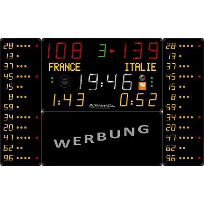 Stramatel® Anzeigetafel ´´452 MB 7120-2´´, Funk...