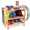 Sport-Thieme Preschool and Primary School Set, With storage trolley