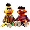 Hånddukke-sæt, Ernie og Bert