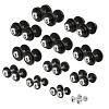 Sport-Thieme Compact Dumbbell Set, 2.5–30 kg