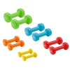 Sport-Thieme Vinyl Dumbbell Set, 0.5–3 kg