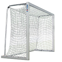 Sport-Thieme® aluminium small pitch goal, 3x2 m, square tubing, free-standing or fitted into ground sockets