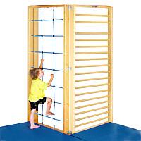 Sport-Thieme TuWa 2-Piece Corner Gymnastics Wall