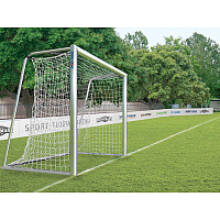 Fully Welded, 3x2-m Small Pitch Football Goal, Portable with Milled Net Fastening Rail