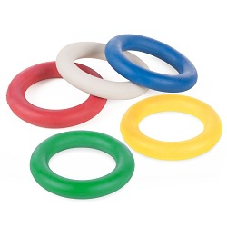Sport-Thieme® Set Turnier-Tennisringe