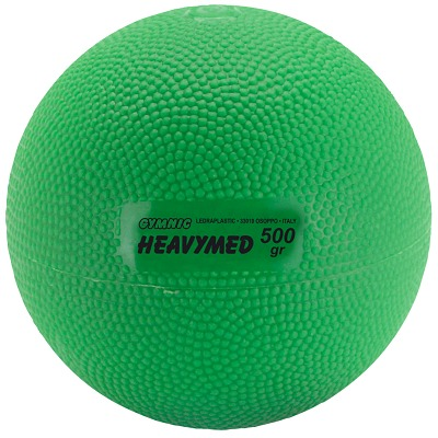 Gymnic Heavymed, 500 g, ø 10 cm, Grün