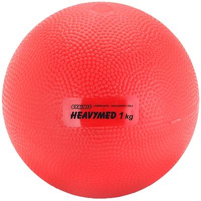 Gymnic Heavymed, 1.000 g, ø 12 cm, Rot