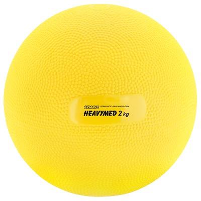 Gymnic Heavymed, 2.000 g, ø 15 cm, Gelb