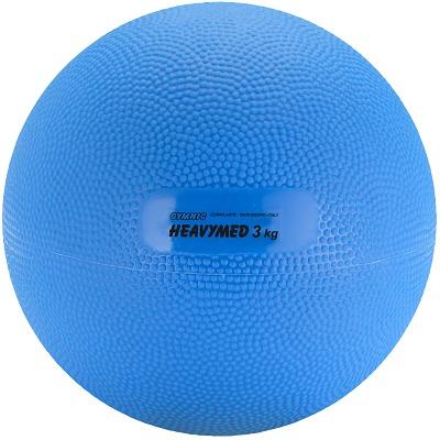 Gymnic Heavymed, 3.000 g, ø 17 cm, Blau