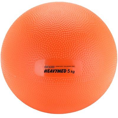 Gymnic Heavymed, 5.000 g, ø 23 cm, Orange