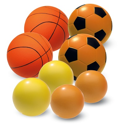 Sport-Thieme PU-Schaumstoffball Set