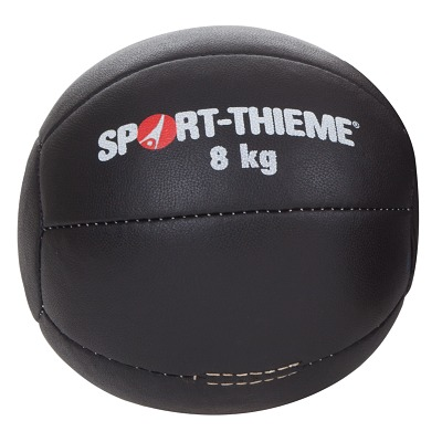 Sport-Thieme Medizinball ´´Schwarz´´, 8 kg, ø 25 cm