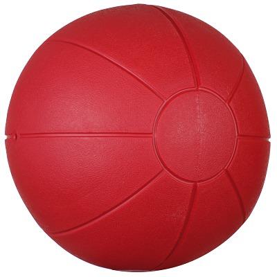 Togu Medizinball aus Ruton, 1 kg, ø 21 cm, Rot