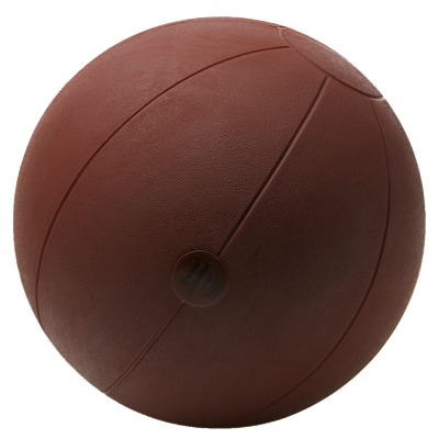 Togu Medizinball aus Ruton, 2 kg, ø 28 cm, Braun