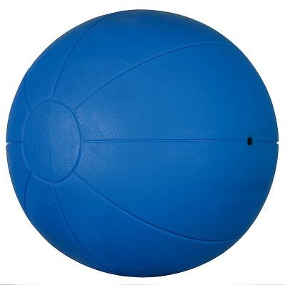 Togu Medizinball aus Ruton, 3 kg, ø 28 cm, Blau