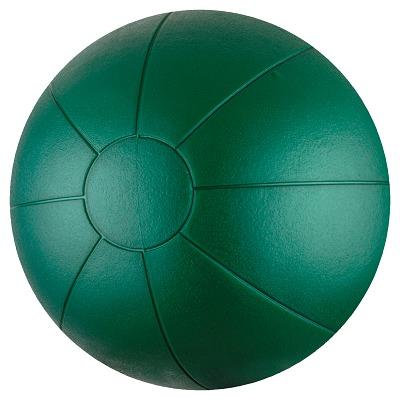 Togu Medizinball aus Ruton, 4 kg, ø 34 cm, Grün