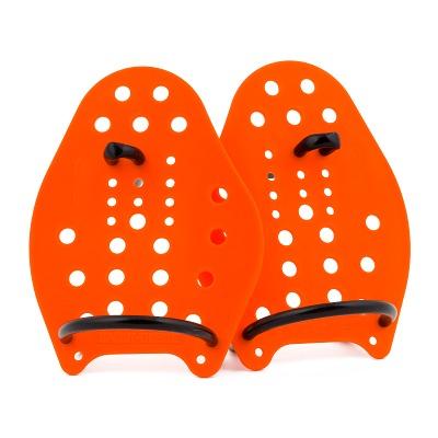 Sport-Thieme Swim-Power Paddles, Größe XS, 17x13 cm, Orange