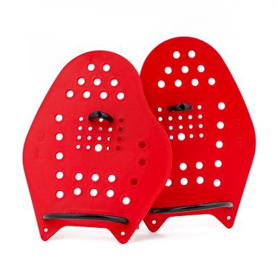 Sport-Thieme Swim-Power Paddles, Größe L, 23x19 cm, Rot