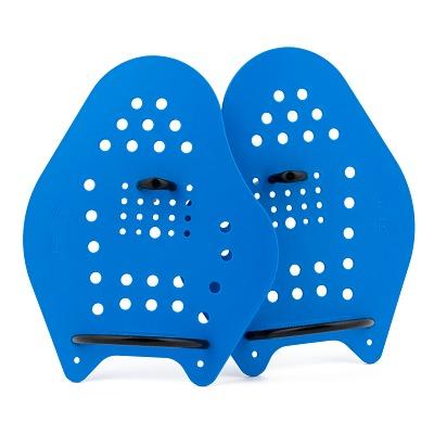 Sport-Thieme Swim-Power Paddles, Größe XL, 24x20 cm, Blau