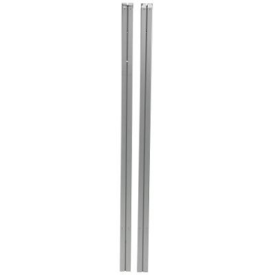 Sport-Thieme Badminton-Pfosten für Bodenhülsen, Profil 80x80 mm