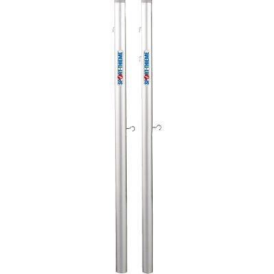 Sport-Thieme Badminton-Pfosten für Bodenhülsen, Profil ø 83 mm