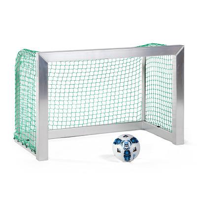 Sport-Thieme Mini-Fußballtor, vollverschweißt, Inkl. Netz, grün (MW 4,5 cm), 1,20x0,80 m, Tortiefe 0,70 m