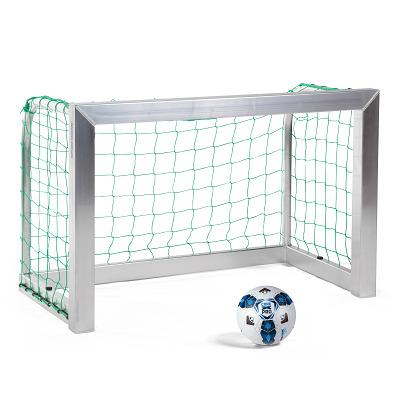 Sport-Thieme Mini-Fußballtor, vollverschweißt, Inkl. Netz, grün (MW 10 cm), 1,20x0,80 m, Tortiefe 0,70 m