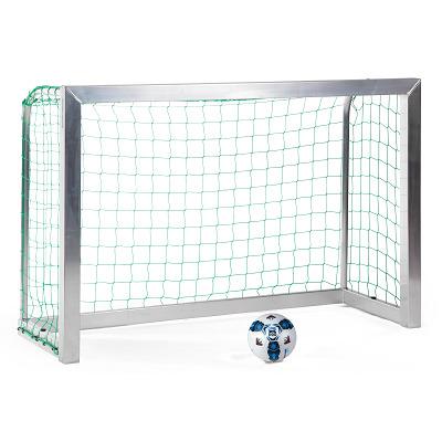 Sport-Thieme Mini-Fußballtor, vollverschweißt, Inkl. Netz, grün (MW 10 cm), 1,80x1,20 m, Tortiefe 0,70 m