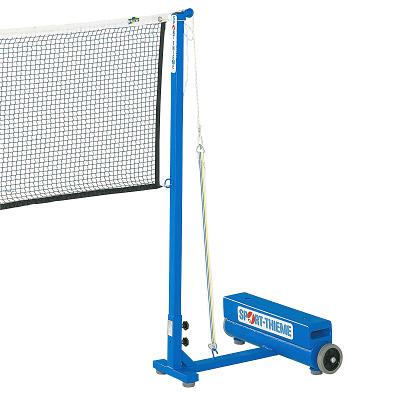 Sport-Thieme Badminton-Pfosten mit Zusatzgewichten, Gurtspannsystem