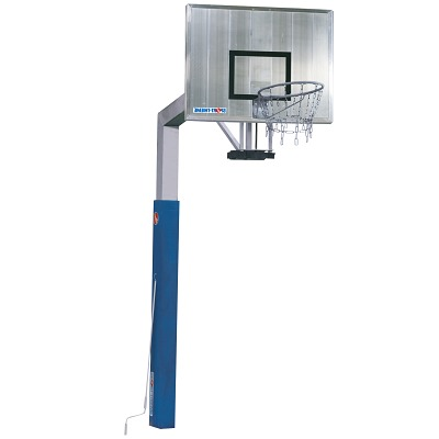 Sport-Thieme® Basketballanlage ´Fair Play Silent´ mit Höhenverstellung, Korb Outdoor´´ abklappbar, 180x105 cm´´