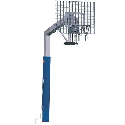Sport-Thieme® Basketballanlage ´Fair Play Silent´ mit Höhenverstellung, Korb Outdoor´´, 120x90 cm´´