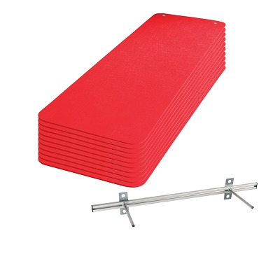 Sport-Thieme Gymnastikmatten-Set ´´Fit&Fun´´, Rot