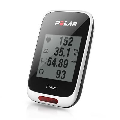 Polar® Fahrradcomputer M450, Mit HR
