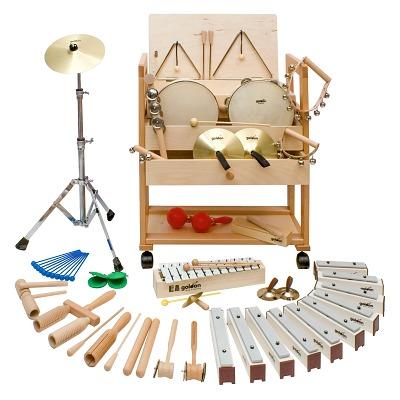 Goldon Rhythmik-Wagen Set