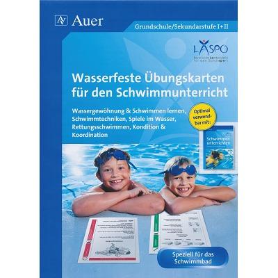 Kartei Wasserfeste Übungskarten Schwimmen´´´´
