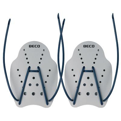 Beco Hand-Paddles, Größe L, 23x19 cm, Grau