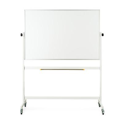 Drehgestelltafel, fahrbar, Beidseitig Whiteboard, 150x100 cm