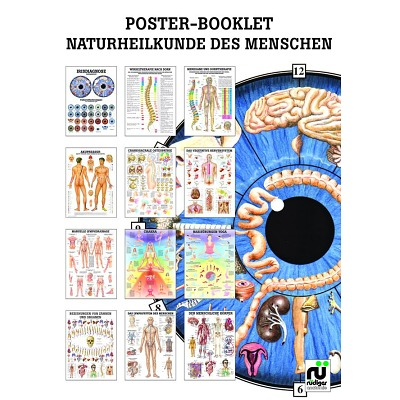 Miniposter-Booklet, Naturheilkunde