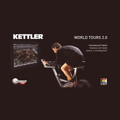 Kettler® Trainingssoftware World Tours 2.0´´´´