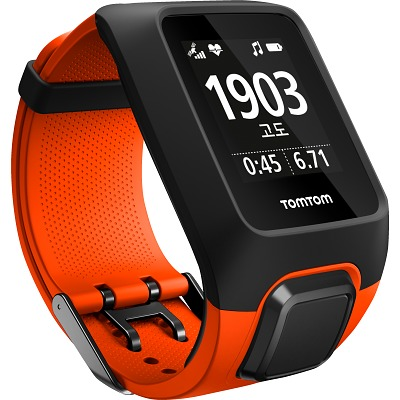 TomTom Adventurer Cardio + Music, Orange