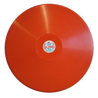 Trial Diskus, 0,75 kg, Rot