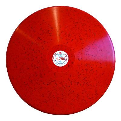 Trial Diskus, 1,75 kg, Rot (Männer)