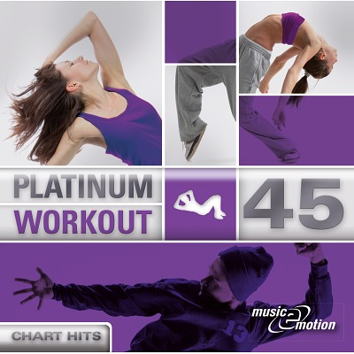 CD Platinum Workout 45 - Chart Hits´´´´