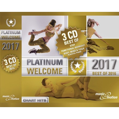 3er CD Box Platinum Welcome 2017 -Best of Step/...