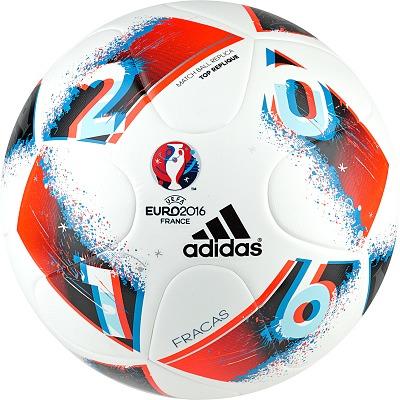 Adidas® Fußball UEFA EURO 2016™ Top Replique Fracas´´, Größe 4´´