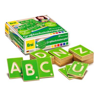 Erzi® Lernspiel, Großbuchstaben
