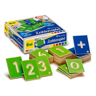 Erzi® Lernspiel, Zahlen