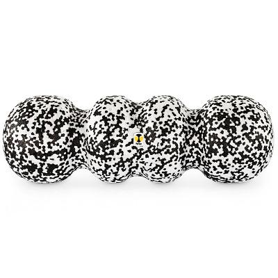 Rollga Faszienrolle Soft, Soft, Schwarz-Weiß