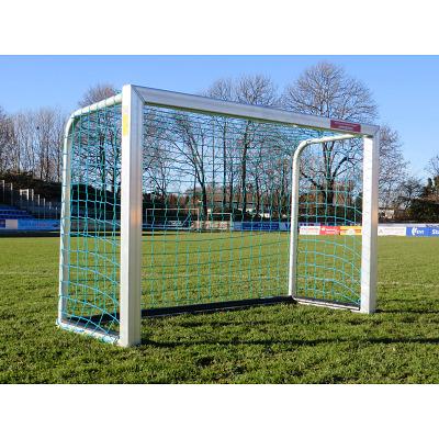 Sport-Thieme Mini-Fußballtor mit PlayersProtect, Inkl. Netz, blau (MW 4,5 cm), 2,40x1,60 m