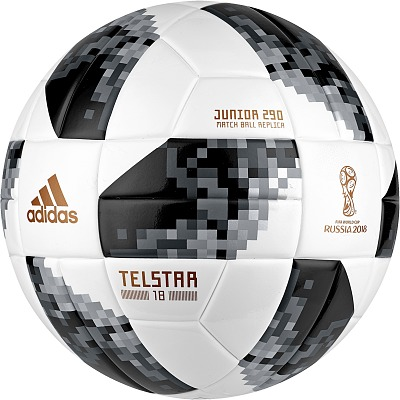 Adidas® Fußball Telstar 18 Junior´´, Größe 4, c...